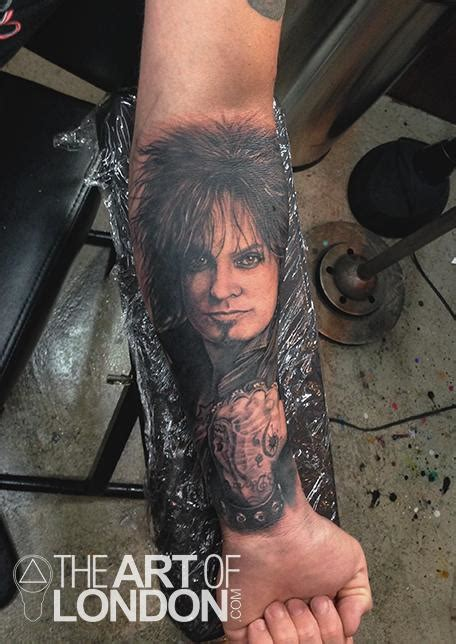 nikki sixx tattoos sixx motley crue portrait by reese tattoonow