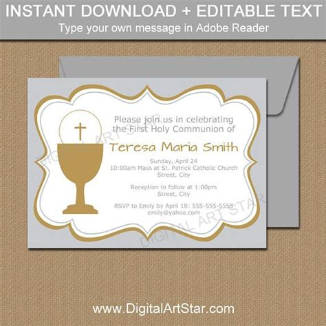 Holy Card Template by 76 Best Communion Ideas Images On