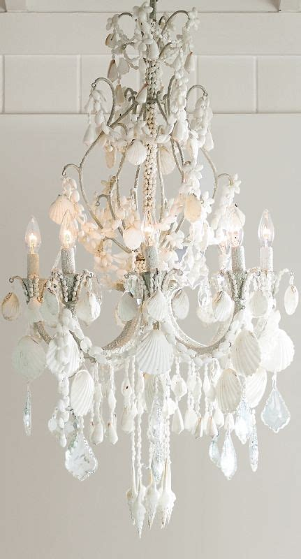 Seashell Chandelier Diy The World S Catalog Of Ideas