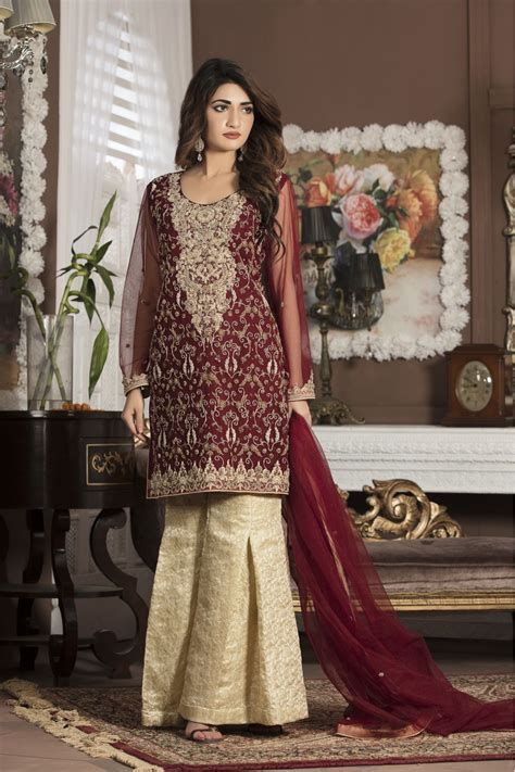 Bridal Wear Dresses by Maroon Bridal Wear G13107 Exclusive Boutique