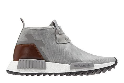 Adidas Nmd Chukka Trail Nmd C1 Tr Brand New adidas nmd c1 trail premium leather solid grey where to buy