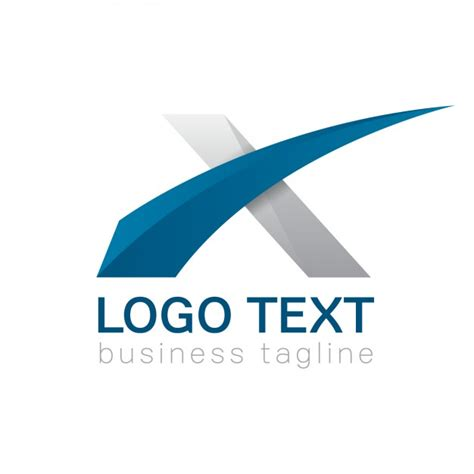 a logo with a x x vectors photos and psd files free