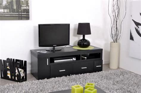 Banc Tv Gris Laqué meuble tv bois et blanc pas cher