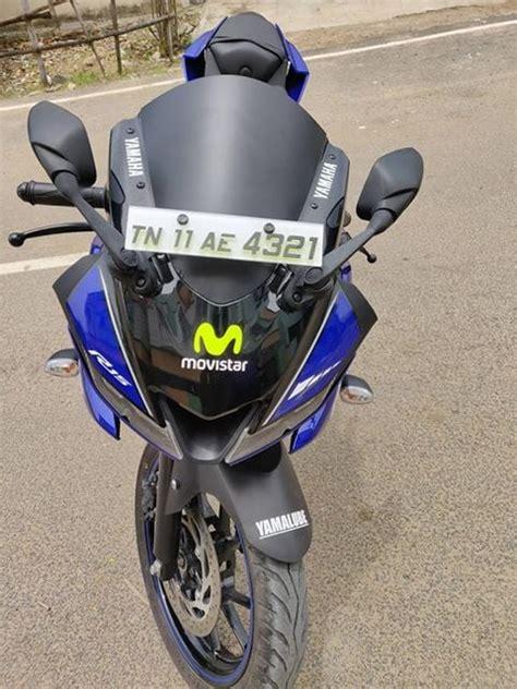 Cuting Sticker Modifikasi Motor R15 V3 Biru by Decal R15 V3 Movistar The Stickers