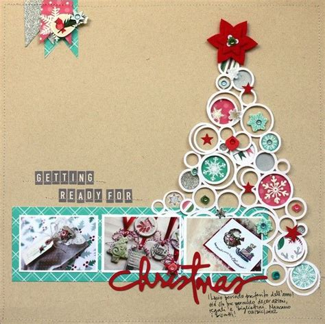 25 best ideas about christmas scrapbook layouts on