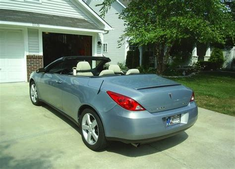 Pontiac G6 Hardtop Convertible For Sale Buy Used 2007 Pontiac G6 Gt 2 Door Hardtop Convertible