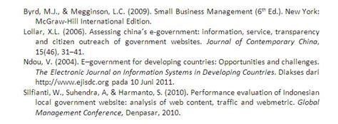 cara penulisan daftar pustaka referensi dari skripsi contoh daftar pustaka jaringan komputer contoh 36