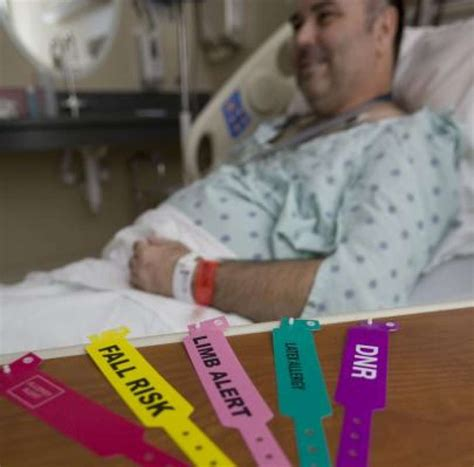 hospital wristband color meaning hospitals urged to standardize wristband colors for safety