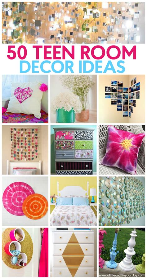 how to make room decorations 50 teen girl room decor ideas a little craft in your day
