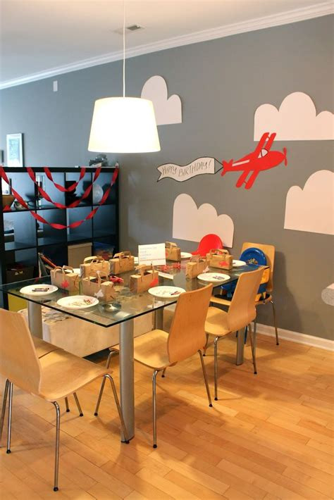 aviation themed events airplane themed birthday party parties pinterest
