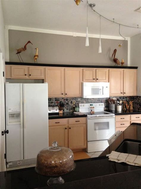functional kitchen cabinets sherwin williams functional gray to de pink pickled oak