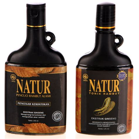 Sho Natur Hair Tonic natur jamu hair regrowth regrowing shoo