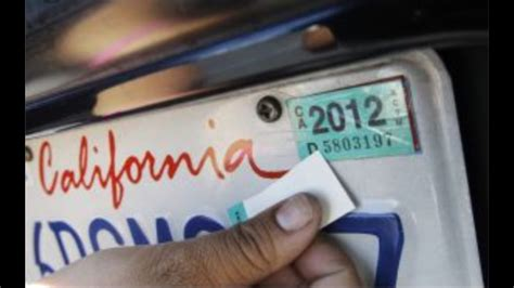 Remove Registration Sticker how to remove registration sticker when you get a new one
