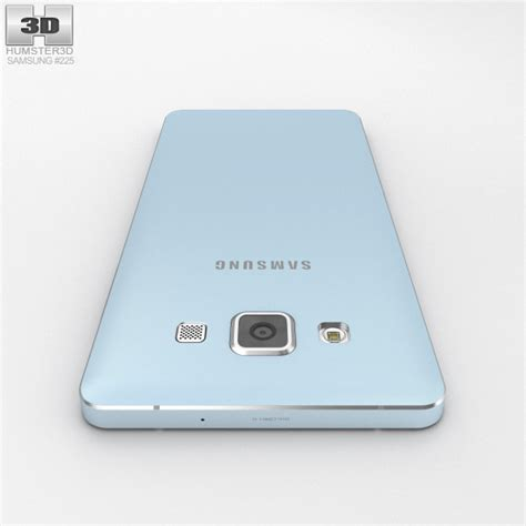 Samsung Galaxy A5 Lite Samsung Galaxy A5 Light Blue 3d Model Humster3d