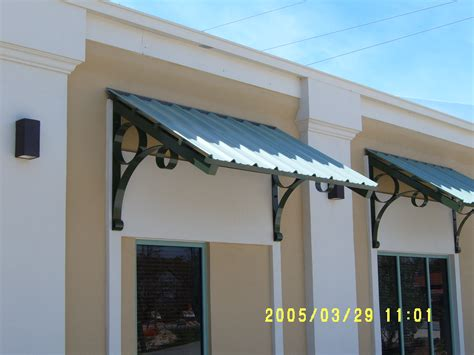 decorative metal window awnings metal craft of pensacola inc 850 478 8333 metal craft of