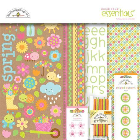 doodlebug essentials kit doodlebug design hello collection essentials kit