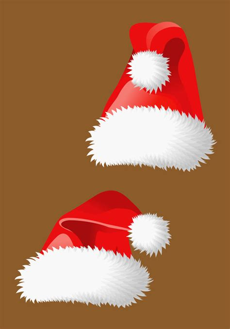 design own xmas hat different hat design elements vector set 02 millions vectors stock photos hd