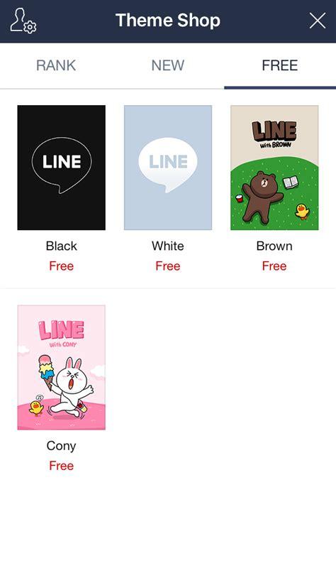 themes line shop using the line url scheme