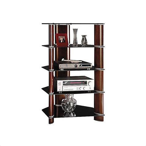 Audio Tower Rack Furniture Gt Entertainment Furniture Gt Rack Gt Cherry Audio Rack