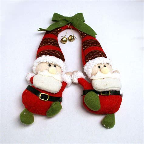 santa hanging door knob decorations