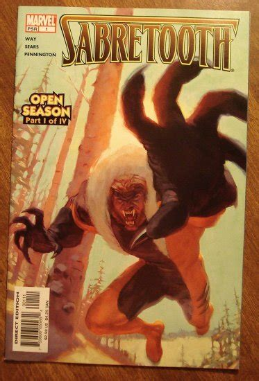 sabretooth open season vol 1 1 marvel database fandom powered by wikia sabretooth open season 1 comic book marvel comics