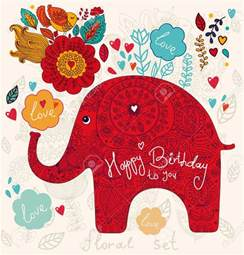 elephant birthday cards happy birthday elephant happy birthday