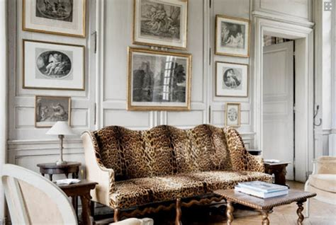 cheetah print living room fifty shades of gray in classical interiors 2016