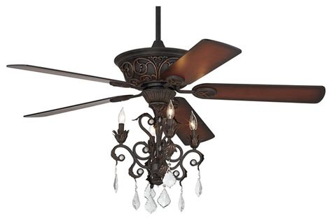 casa contessa bronze chandelier ceiling fan