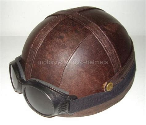 leather motorcycle helmet motorcycle helmet outrider antique leather hogs