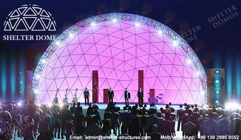 diameter  geodesic dome tent  concert spherical