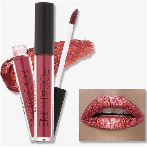 Sale Single Lip Matte Liquid Lipstick focallure waterproof lip gloss liquid lipstick 22