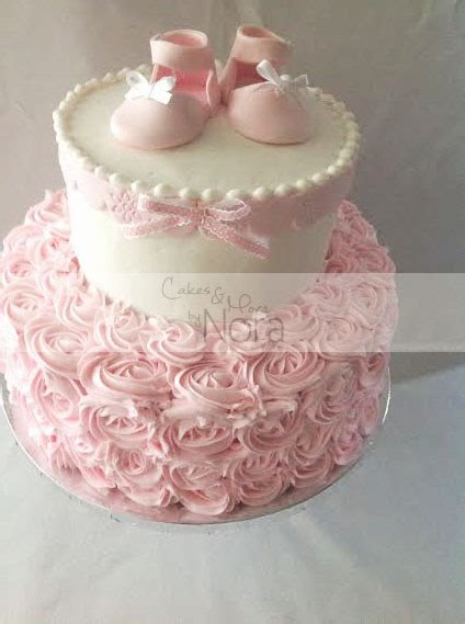 shabby chic baby shower cakes a shabby chic baby shower it s a cakes and more
