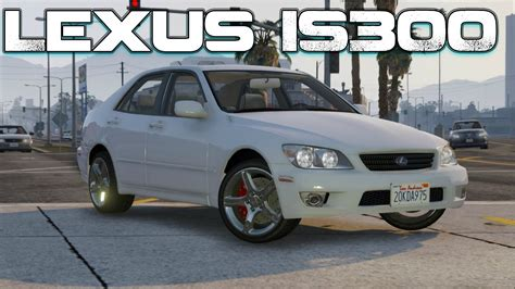 modded lexus is300 grand theft auto v pc mods lexus is300 tunable