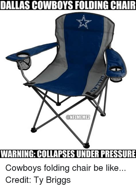dallas cowboys folding arm chair search folding memes on sizzle