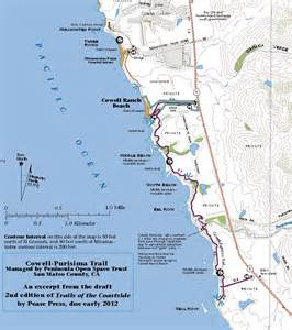 half moon bay california map cowell purisima trail opens near half moon bay