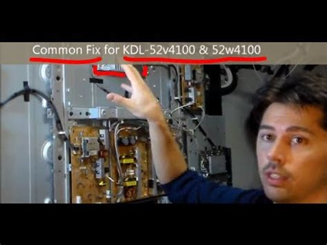 Sony Wega L Light Blinking by Easy Common Fix For Sony Tvs Kdl Light Blinking