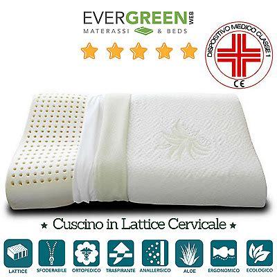 cuscino in lattice o memory cuscini e guanciali letto lenzuola e biancheria casa