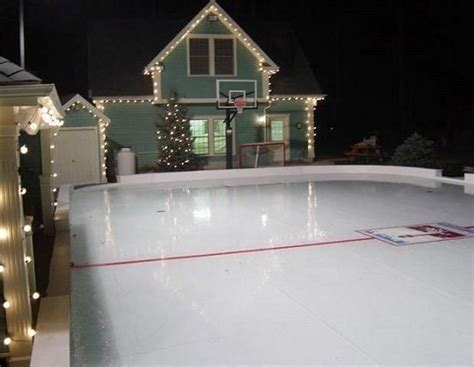 my backyard ice rink the rink is where i go to clear my head and just skate