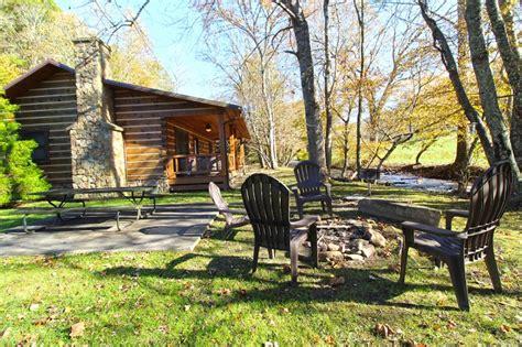 cabin city stocked trout creek fishing cabin in the smokies near
