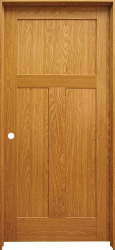 Mastercraft Prefinished Craftsman Flat 3 Panel Prehung Interior Doors At Menards