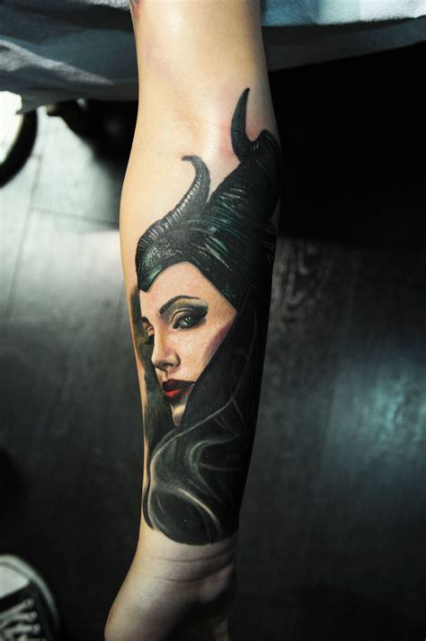 maleficent tattoo maleficent 2 finally comes true