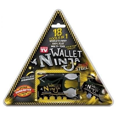Solid Wallet 12 In 1 Multi Purpose Credit Card Sized Pocket wallet 18 in 1 multi purpose credit card size pocket tool