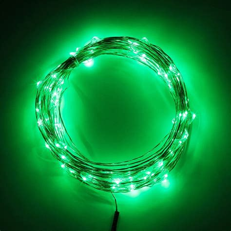 12v led string lights 2 5 10m led silver wire starry string lights 12v 1a