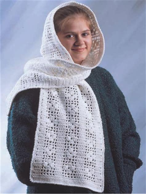 free pattern hooded scarf crochet crochet accessories crochet scarf patterns cotton