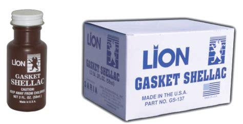 gs  lion gasket shellac lion shellac  juntas lion automotive car care products