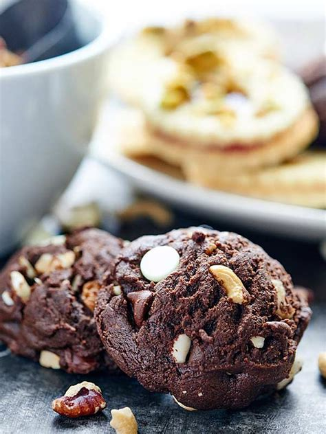 new year chocolate cookies recipe new year s recipes 2015 apps desserts drinks