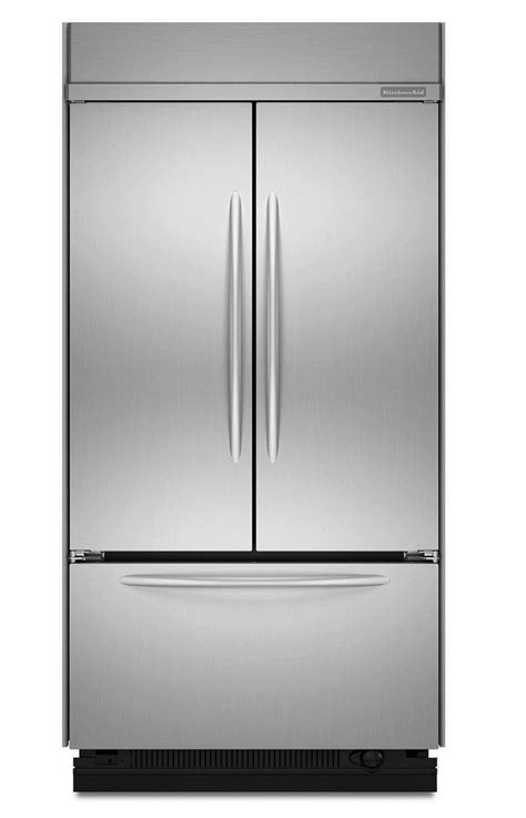 Kitchenaid Door Refrigerator Reviews by Review Kitchenaid Architect Series Ii Kbfc42fts