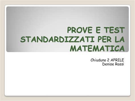 discalculia test erickson prove e test standardizzati per la matematica