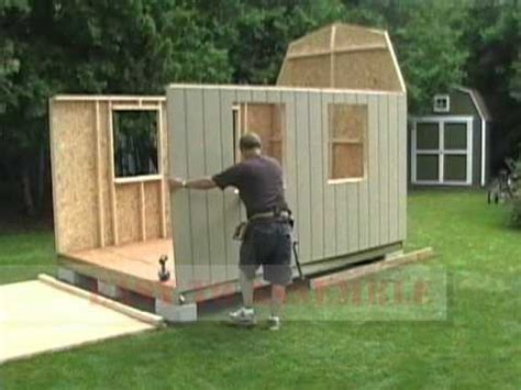 Shed With Assembly by Shed In A Day Barn Shed Assembly