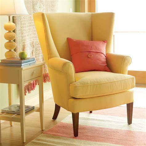 traditional chairs for living room owen wing chair traditional living room other metro by maine cottage